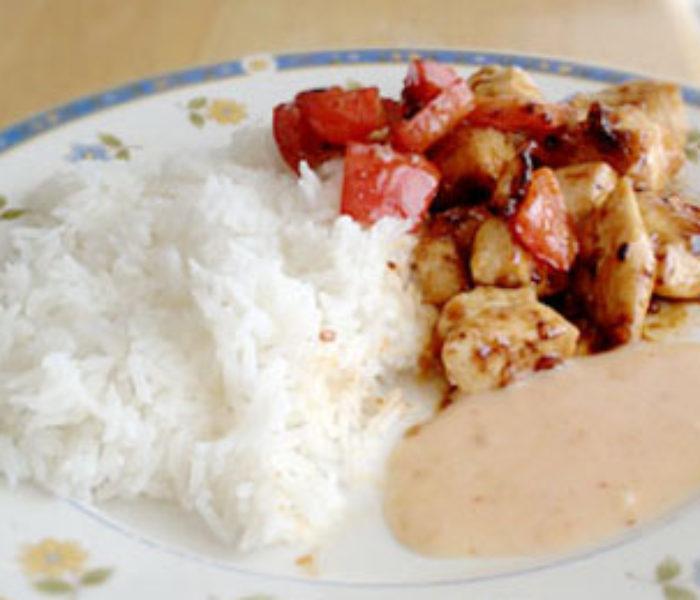 Cookbook: Spicy Cream Chicken