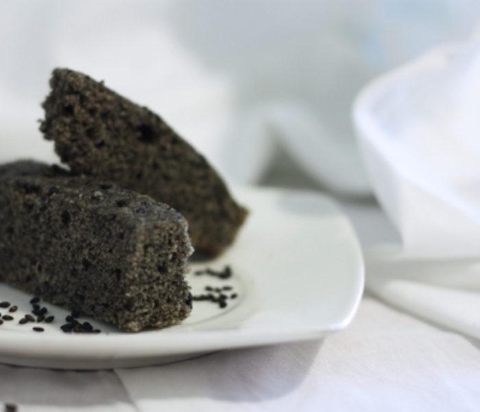 Cookbook: Black Sesame Brownies