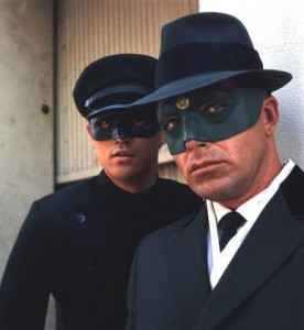 """Bruce Lee and Van Williams in """"The Green Hornet"""" on January 1, 1966. Photo courtesy of IMDB."""