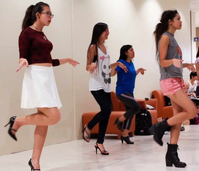 Asian American Students and Dancing for AASU