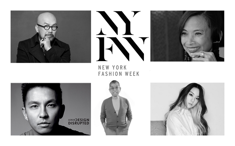 Top 5 asian designers featured at new york fashion week for Top decorators new york