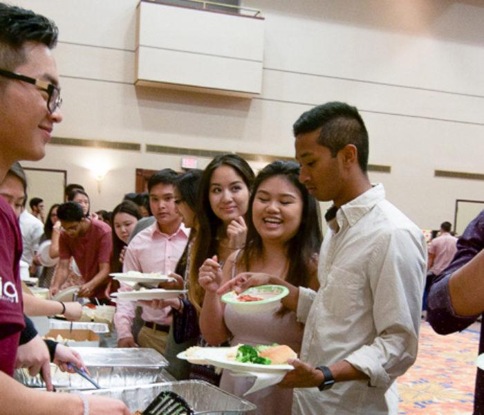 Leaders roasted at AASU Week Food and Whine Festival