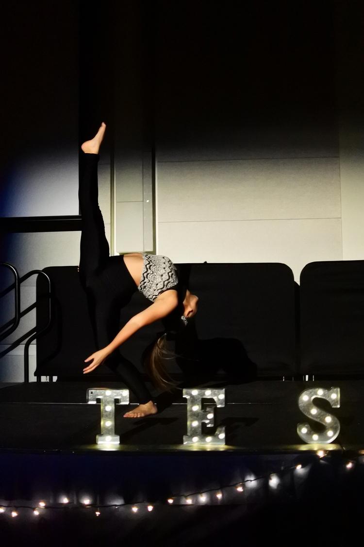 FSA Dance Coordinator Mariella Marfori performs in the Rion Ballroom. Photo by Royce Abela.