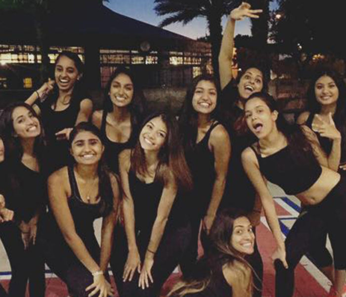 Gator Adaa harassed during outdoor dance practice